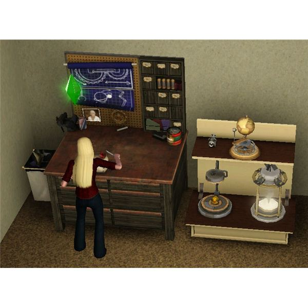 The Sims 3 Inventor Profession