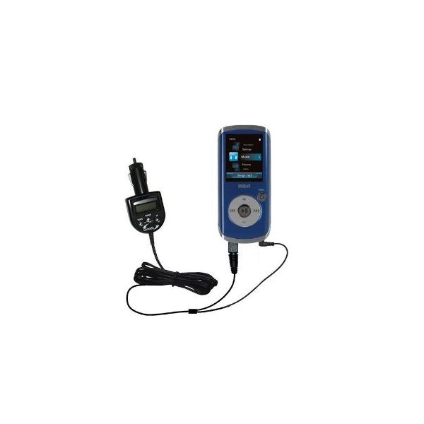 2nd Generation Audio FM Transmitter plus integrated Car Charger