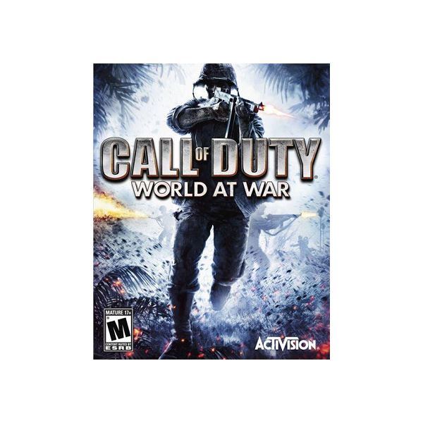 Call of Duty 5 Cover Art
