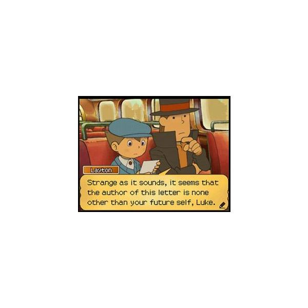 Professor Layton: A Letter From Future Luke