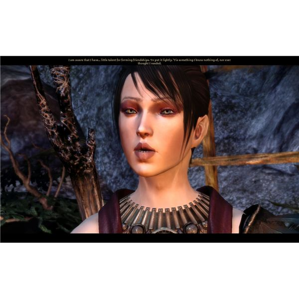 Dragon Age: Origins Romance - For a Woman Wearing Just a Scarf She Has a Lot of Morals