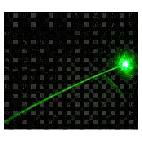 Green Laser Ray, Image