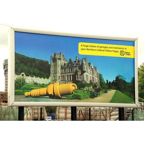 Yellow pages poster