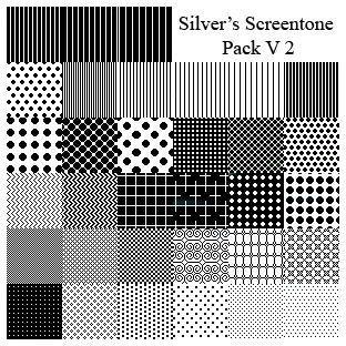 Silver s Screentone Pack V2 by silverwinglie