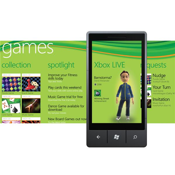 Games on Windows Phone 7