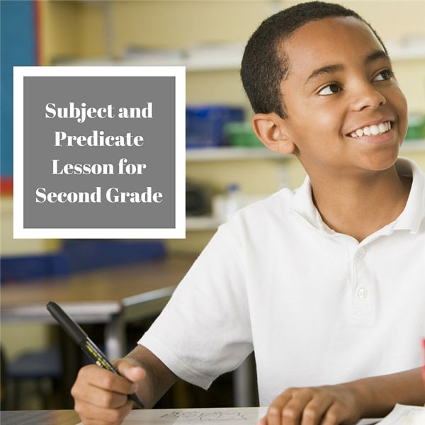 Subject and Predicate Lesson for Second Grade