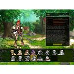 Various character classes in Lunia Online