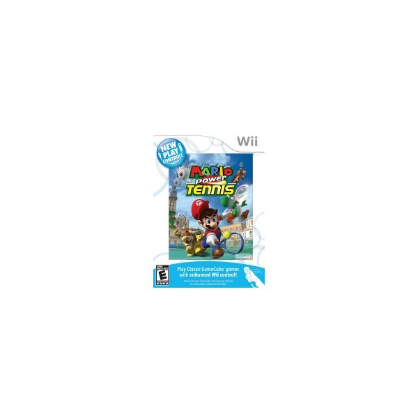 Nintendo Wii Games New Play Control Mario Power Tennis Review