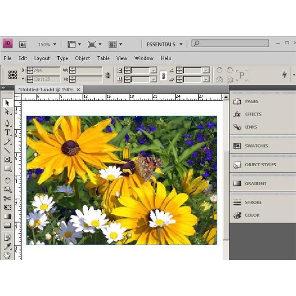 Learn to desaturate images in InDesign
