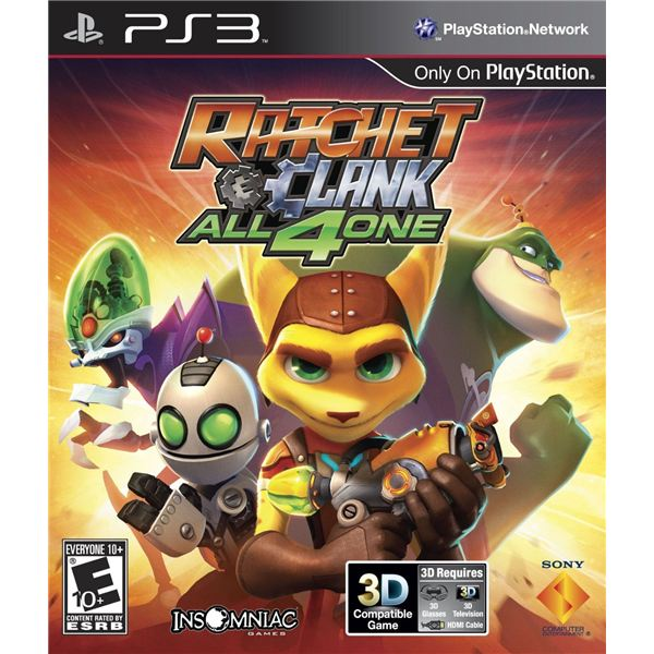 Ratchet and Clank All 4 One