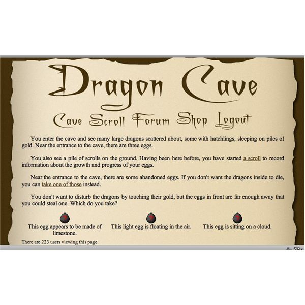 Review of Dragon Cave: A Free Online Virtual Pets Game