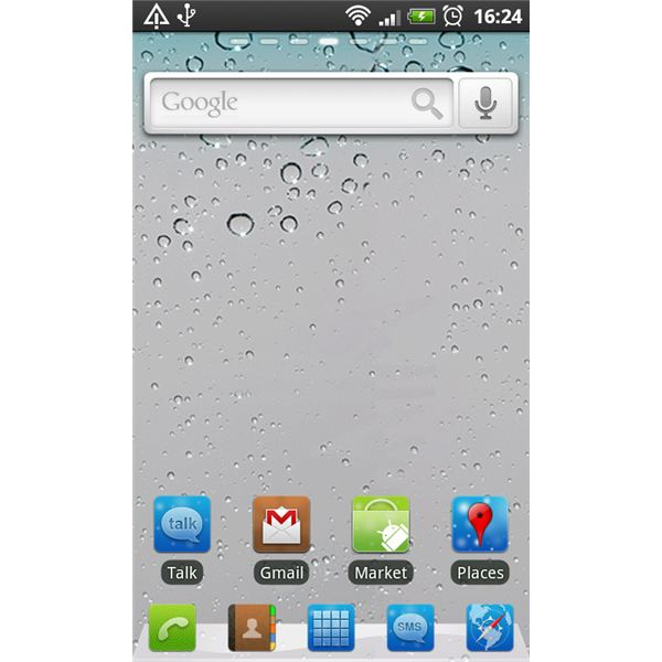 Home Screen Go Launcher EX Themed