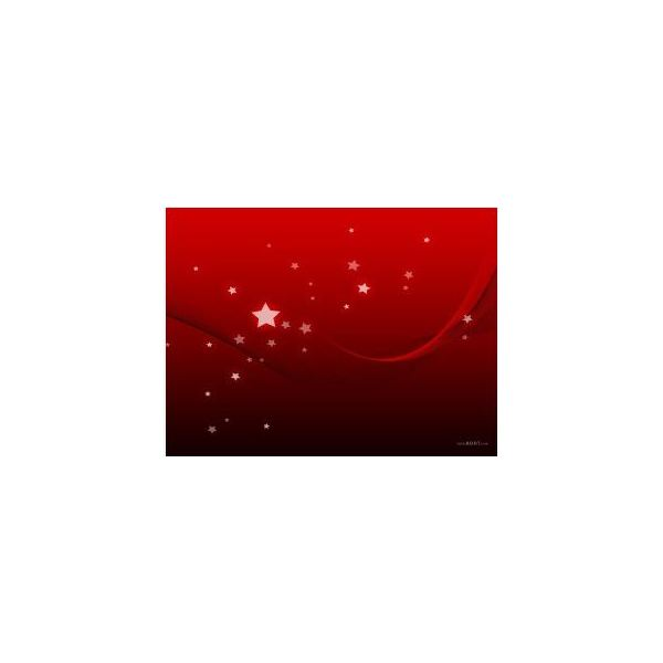 Red Star Background
