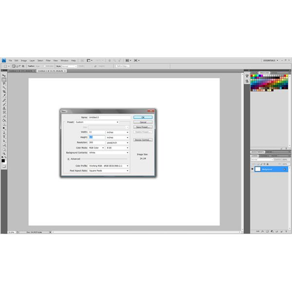 Using an 8.5in by 11in canvas will allow you to print your map exactly how it looks.