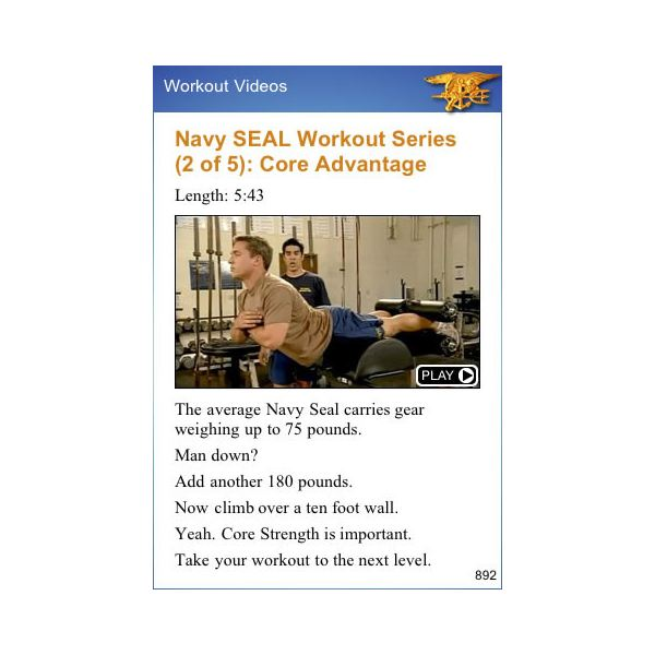 Navy Seal Training App