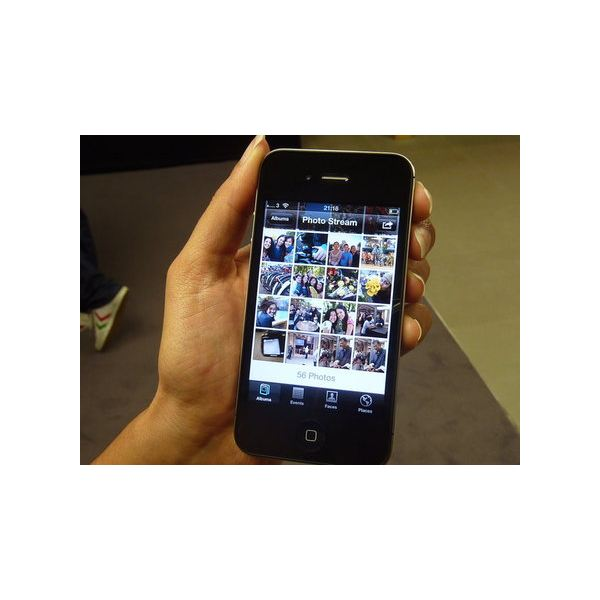iPhone 4S face and iCloud
