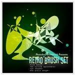Retro Brush Set by PhotoshopCS2DOWNLOAD