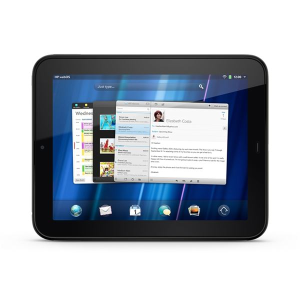 The webOS User Interface on the HP TouchPad
