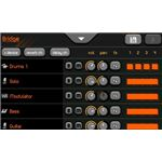Uloops Studio for Android track selector
