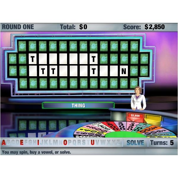 game shows to play online - Wheel of Fortune