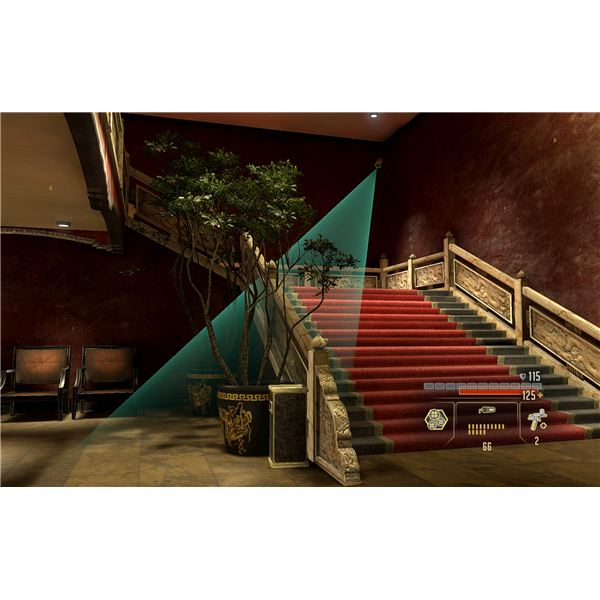 Alpha Protocol Guide - The Stairway in the Grand Hotel in Taipei