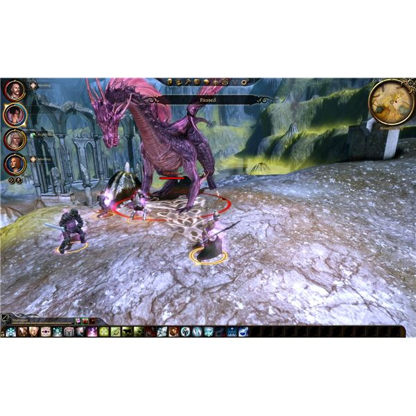 Dragon Age: Origins - High Dragon - Sacred Ashes of Andraste - Ruined Temple