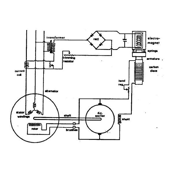 62223 What Is A Carbon Pile Regulator on diagram of generator