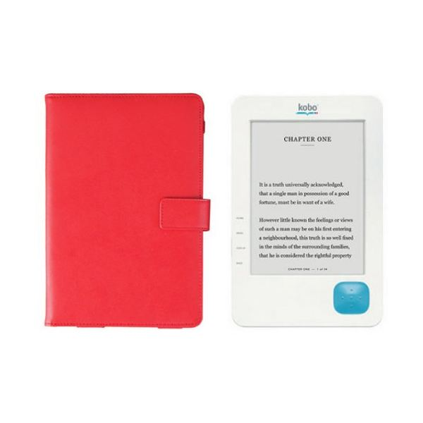 kobo ereader acessories - leather case folio