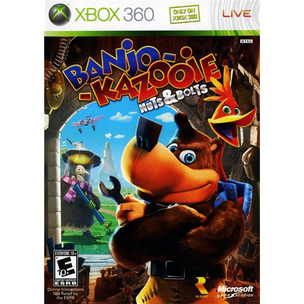Banjo-Kazooie: Nuts & Bolts Cover