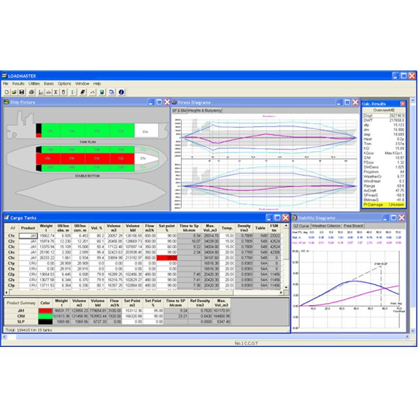Cargo Operation Software Screen