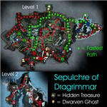 Sepulchre Of Dragrimmar Map Guild Wars
