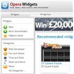 Opera Web Browser Review - widgets