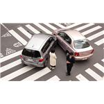 Two Cars in a Lateral Collision Wikimedia Commons