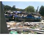 Crash Site at Universal Studios