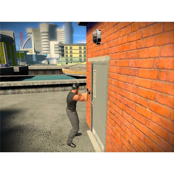 Breaking into a building