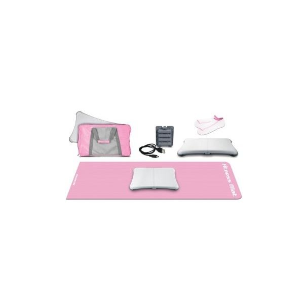 Pink Wii Fit Bundle - holiday gift idea