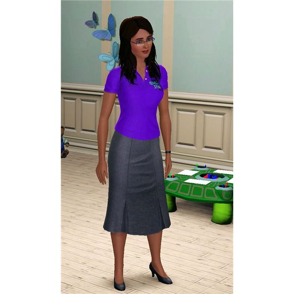 The Sims 3 daycare profession