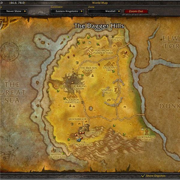 World of warcraft dungeon quest guide underground assault for West fall
