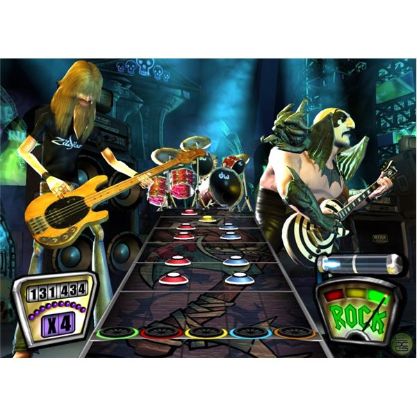 Download additional Guitar Hero content for the Wii