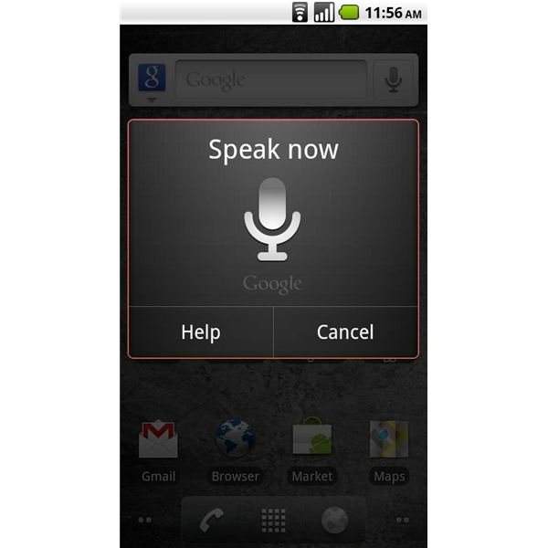 Voice Search Android App