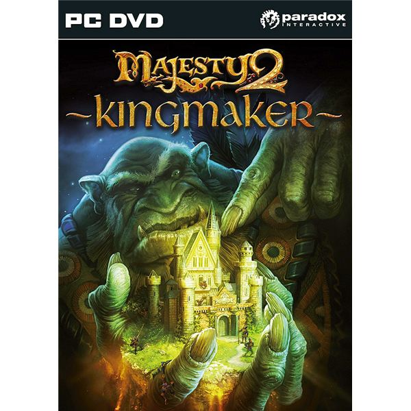 Surviving the Road to the Temple Mission - A Majesty 2 Kingmaker Walkthrough - Finding the Road to the Temple of Grum-Gog, Setting Up Defenses, Destroying Portals of Dark