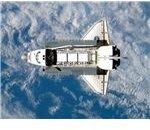 Shuttle in Orbit - Image courtesy of NASA