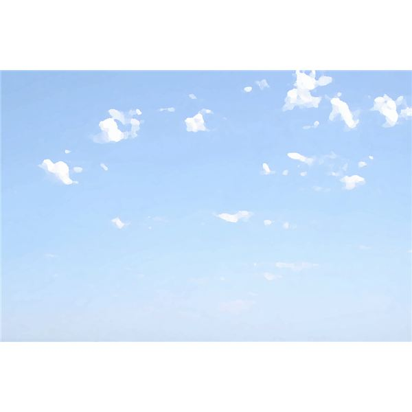 Summer skies can be used in any project