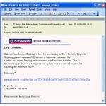 Phishing through email