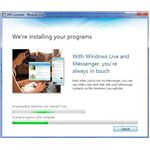 Installing Windows Live Applications