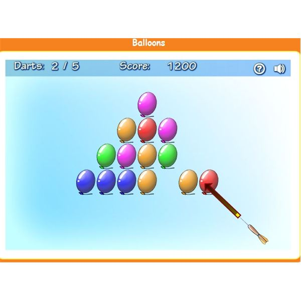 Ballons - kids science games