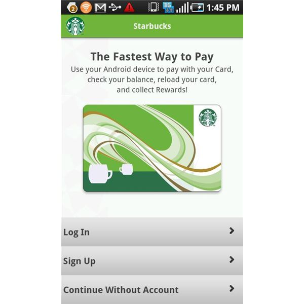 Get a Fix on Your Coffee Habit - Pay with Your Android