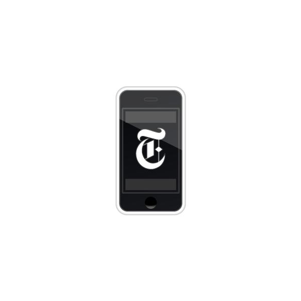 New York Times iPhone (Image Credit: NYTimes.com)