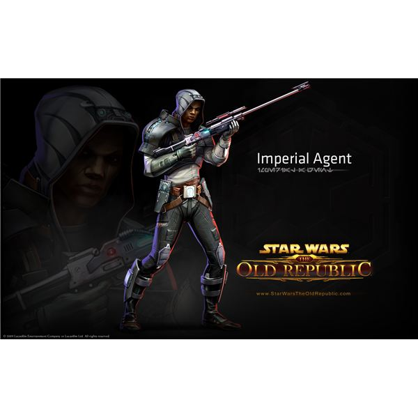 Imperial Agent Wallpaper