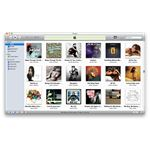 iTunes Grid View Light